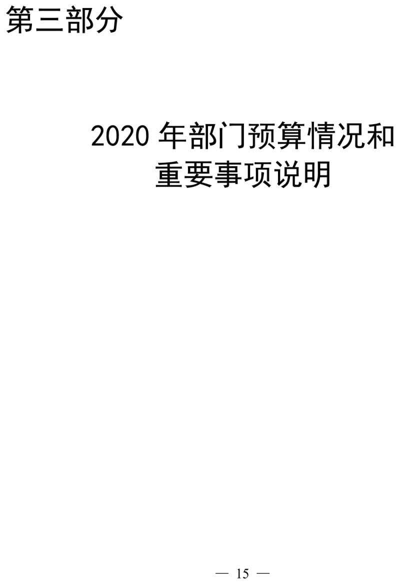 2020年济南市工商业联合会部门预算-16